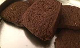 Biscuits chocolat et fève tonka