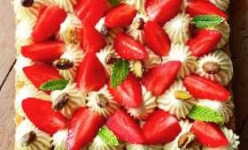 Fantastik fraises et pistaches