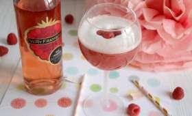 Cocktail à la framboise