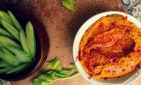 Houmous aux poivrons grillés
