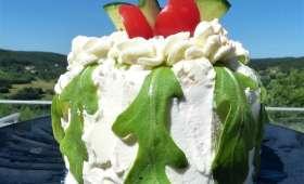 Salad cake (ou gâteau salade) en version individuelle et express