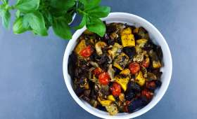 Légumes d'été rôtis-confits