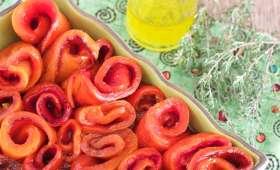 Poivrons grillés au four