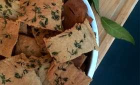 Crackers salés au sarrasin