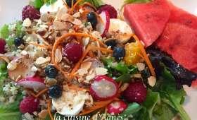 Salade de quinoa aux fruits