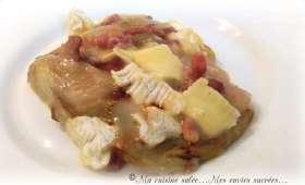 Endives au camembert