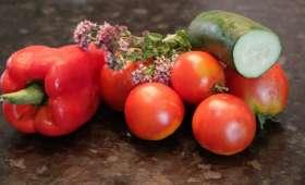 Gaspacho au gorgonzola