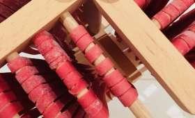Tagliatelles roses au parmesan et pousses d'épinard