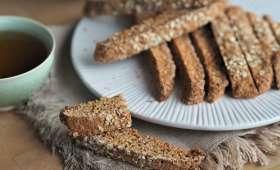 Biscuits aux flocons d'avoine et à l'orange