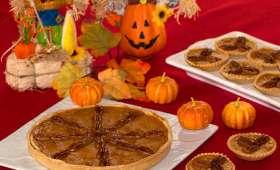 Pumpkin pie, tarte sucrée au potiron et sirop d'érable