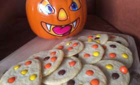 Cookies aux reese's pieces