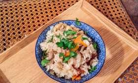Takikomi gohan (riz aux petits légumes)
