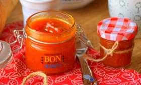 Confiture de potiron orange