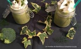 Cappuccino brocolis et sa chantilly