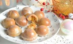 Chamonix, petits biscuits à l'orange fait maison