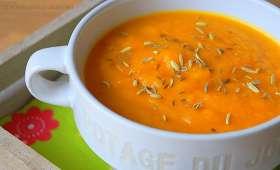 Velouté de carottes facile et rapide