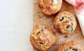 Petits pains au roquefort et aux noix