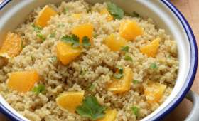Quinoa orange et gingembre