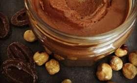 Pâte à tartiner minute chocolat au lait-noisettes