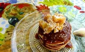 Pancakes exotiques