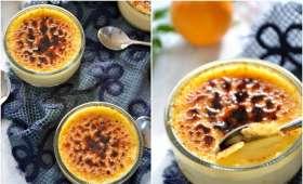 Crème brûlée au citron bergamote