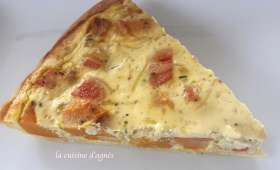 Quiche potimarron ricotta