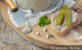 Terrine champignons aux graines de tournesol