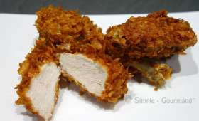 Corn fried chicken