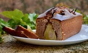 Cake poires marrons