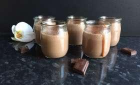 Petits pots de crème au chocolat Nesquik