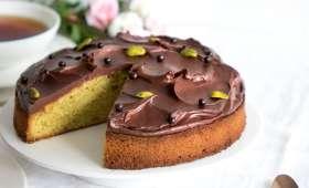 Moelleux pistache chocolat