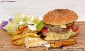 Hamburger à la française.