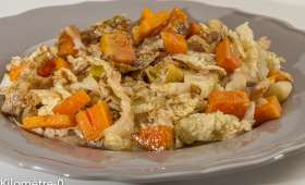 Chou frisé en salade