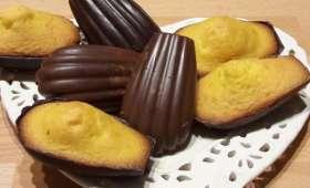 Madeleines chocolat au thermomix