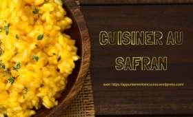 Cuisiner au safran