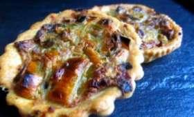 Tartounettes aux poireaux