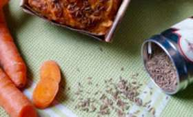 Cake salé carotte mimolette et cumin
