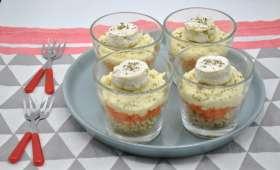 Salade de blé, carotte, panais et fromage