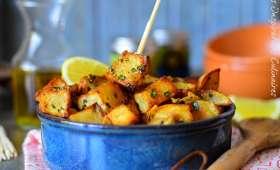 Batata Harra libanaise (pommes de terre épicées)