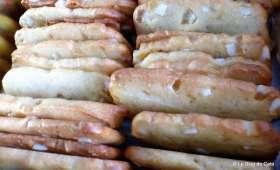 Biscuits croquants à l'écorce de citron confite