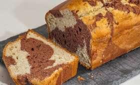 Gâteau du matin marbré
