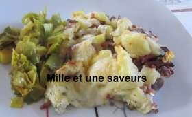 Gratin de pommes de terre au morbier
