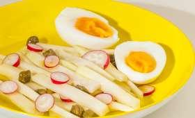 Salade de chou rave aux oeufs