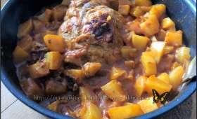 Rôti de porc tikka masala