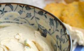Vegan cream cheese à la ciboulette