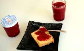 Confiture fraise vanille