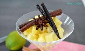 Ananas aux épices