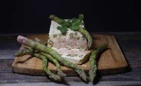 Terrine de saumon aux asperges vertes