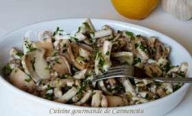 Salade de poulpe persillé