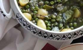 Ragoût de fèves et petits pois de ma grand mère